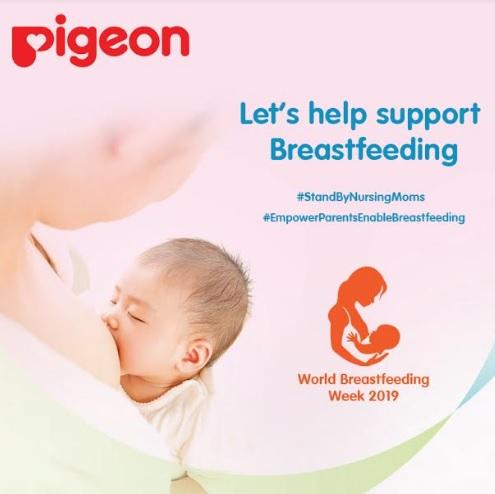 Pigeon India Initiated #StandByNursingMoms Campaign for World Breastfeeding Week