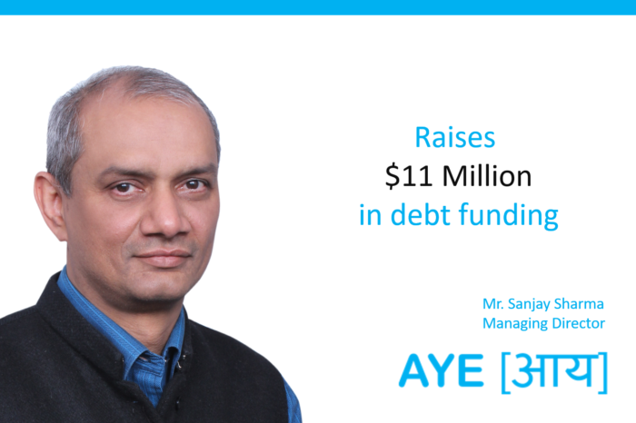 Aye Finance raises debt funding worth INR 80 Cr from undisclosed investor