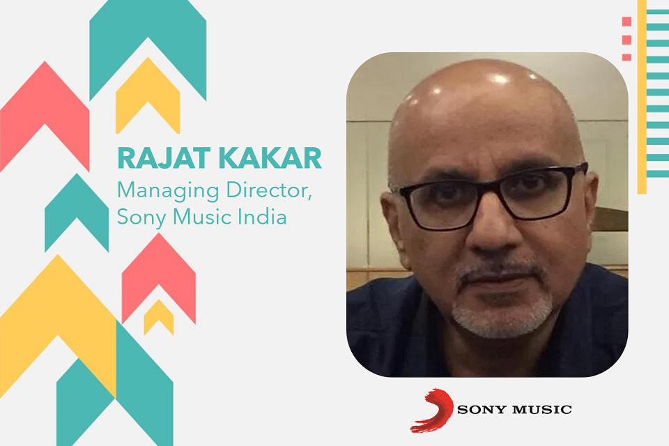 Rajat Kakar is the new Managing Director of Sony Music India