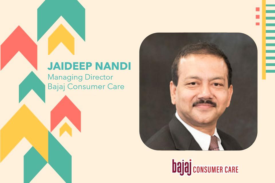 Bajaj Consumer Care appoints Jaideep Nandi as Managing Director